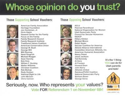 Whose opinion do you trust?